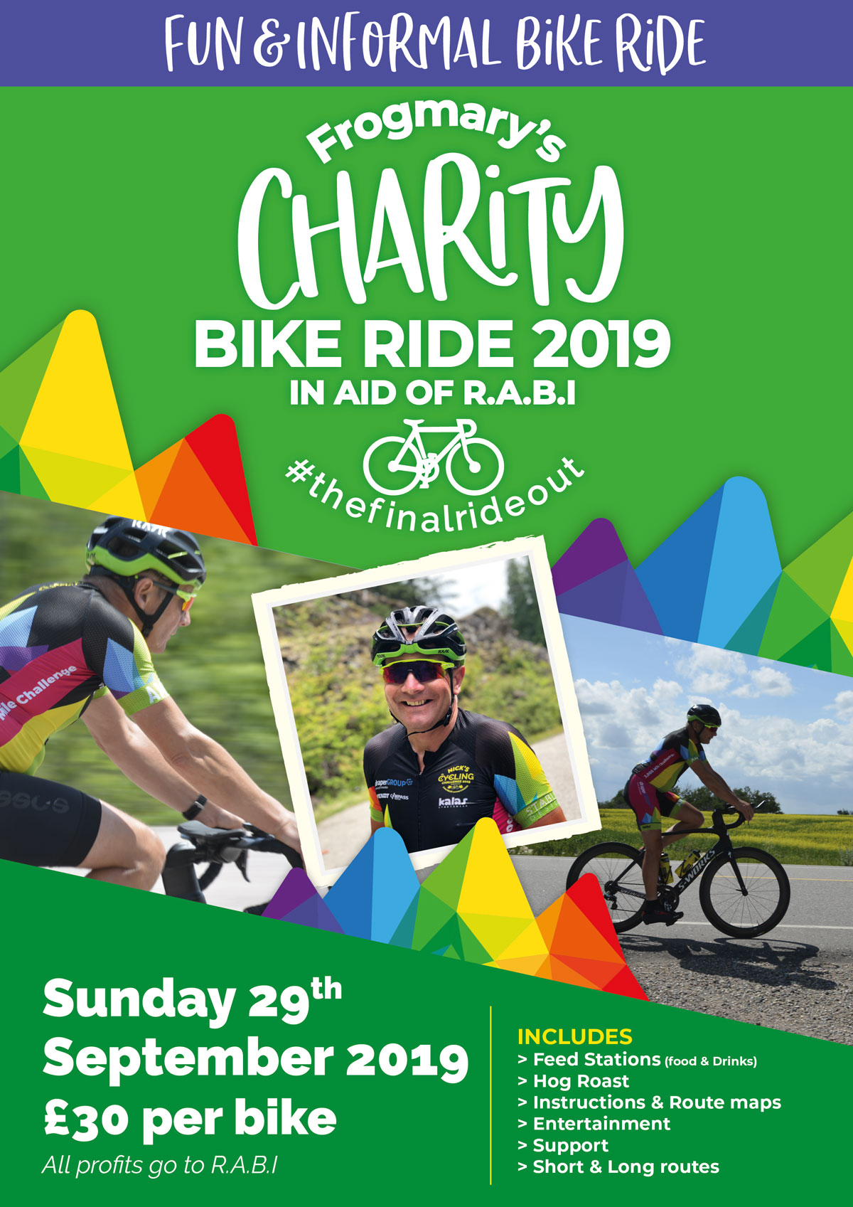 Nick's Cycling Challenge Round-Up Invite