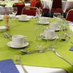 Function table layout at Frogmary Green Farm